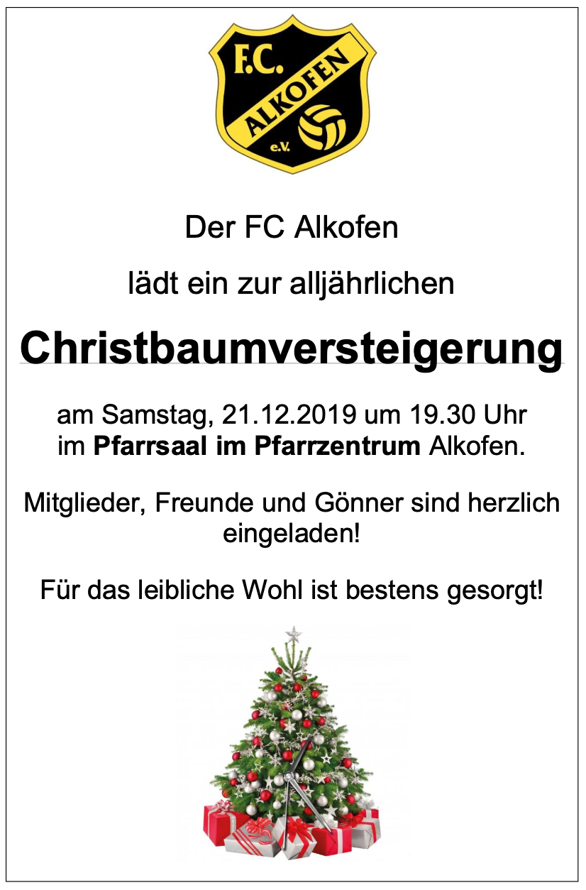 Christbaumverst.2019